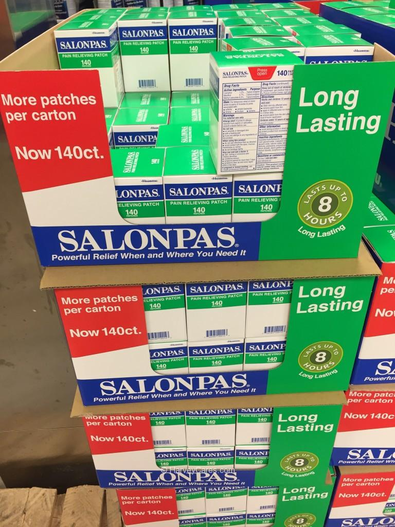 Salonpas Pain Relieving Patch Costco