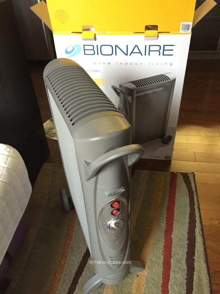 Bionaire MicaThermic Convection Heater Install