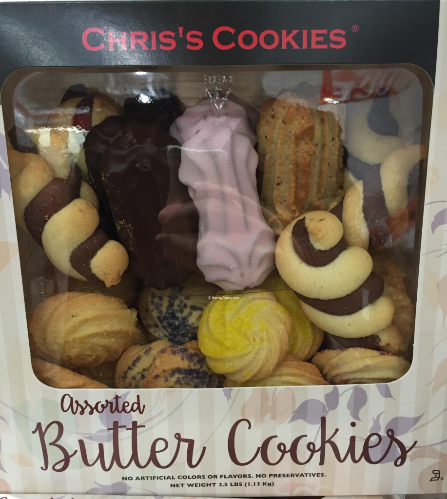 Chris's Assorted Butter Cookies