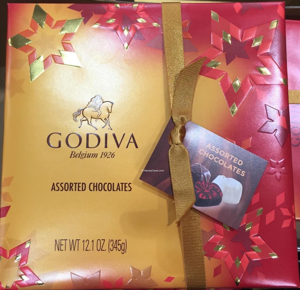 Godiva Belgian Assorted Chocolates Holiday Box