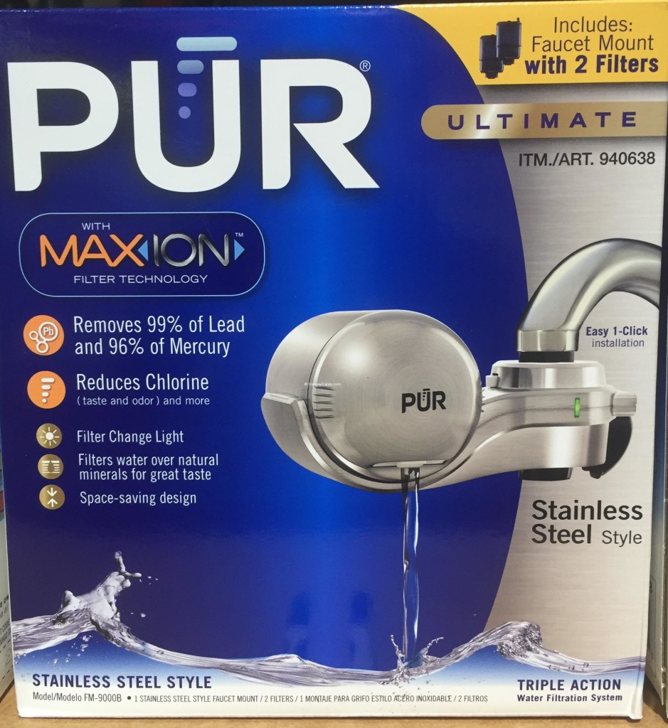 PUR MaxION Faucet Mount Water Filter