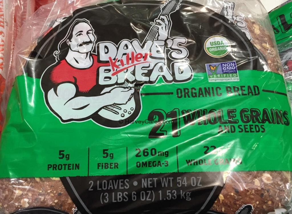 Dave's Killer Organic 21 Whole Grains Seeds Bread