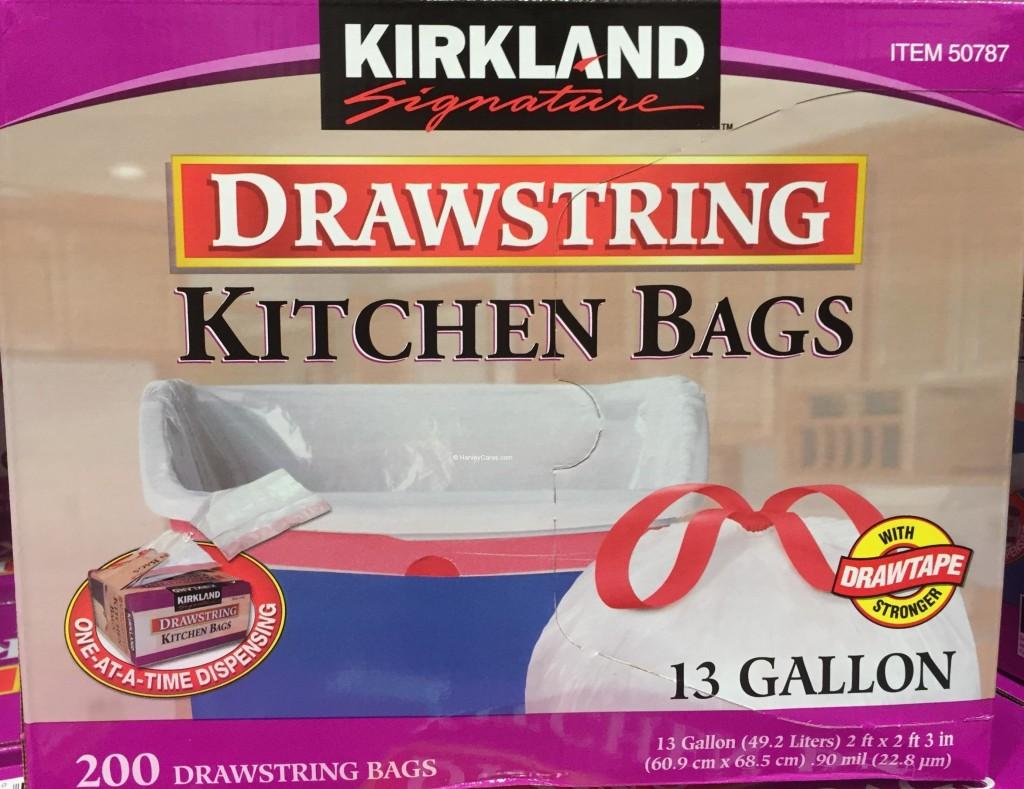 Kirkland Drawstring Kitchen Bags