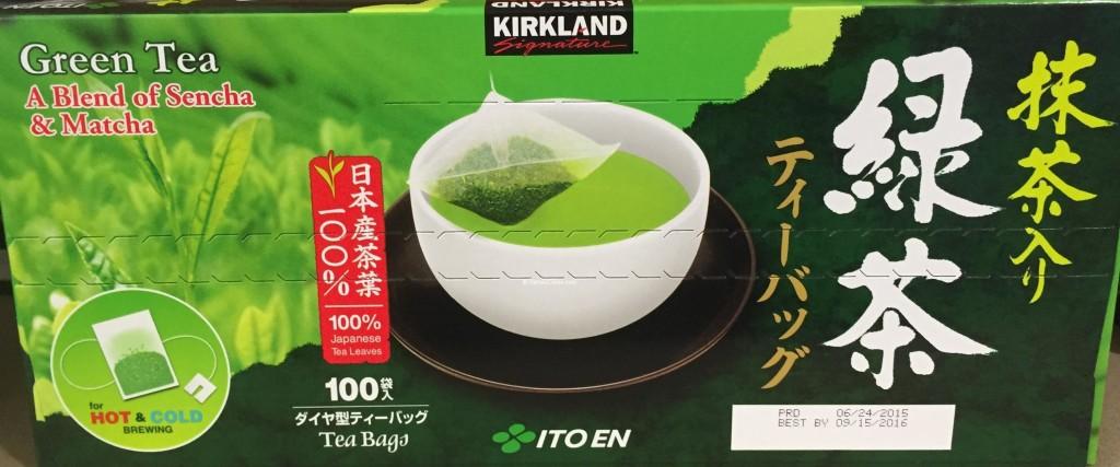Kirkland Signature Japanese Green Tea
