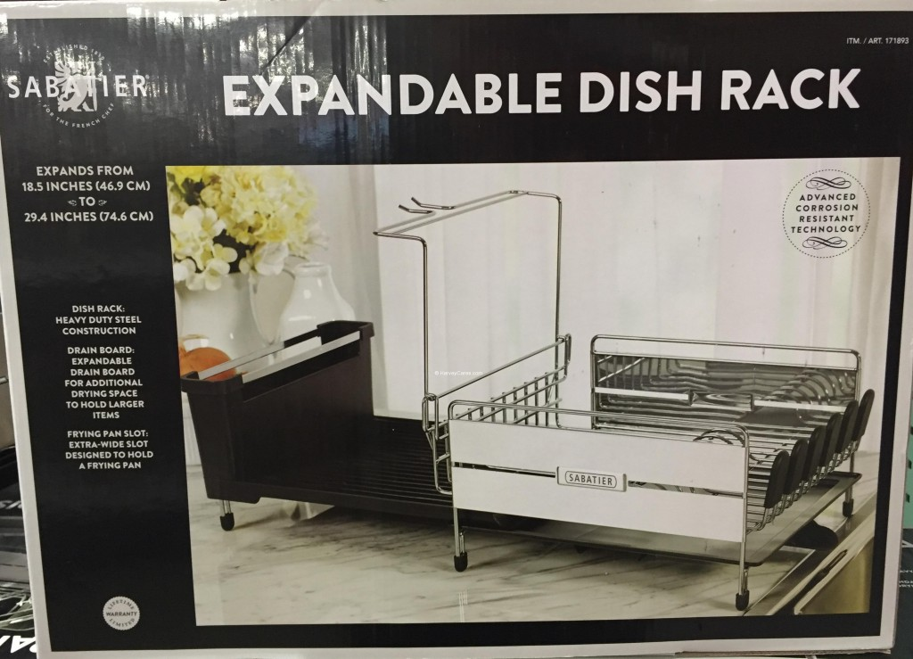 Sabatier Expandable Dish Rack Back Panel
