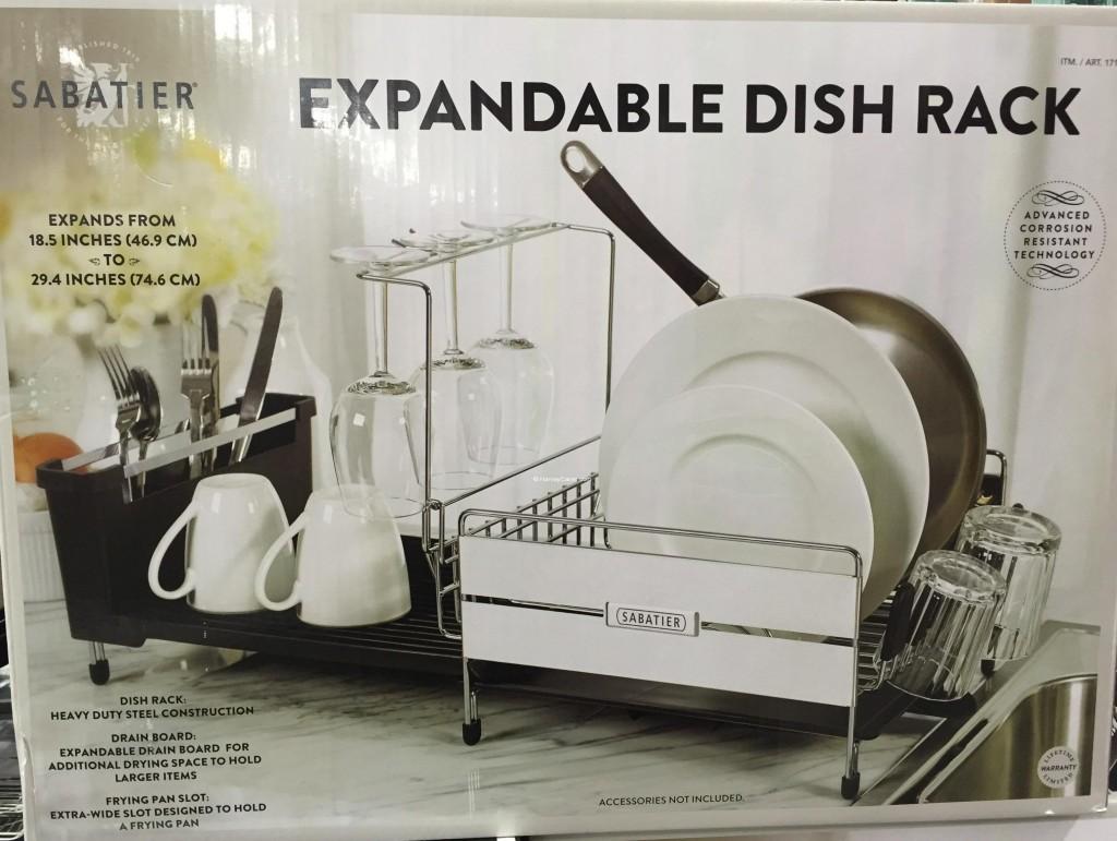 Sabatier Expandable Dish Rack