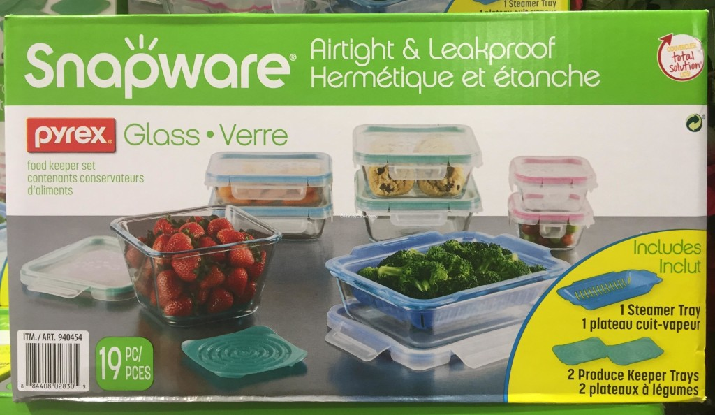 Snapware Pyrex Glass Food Storage Set