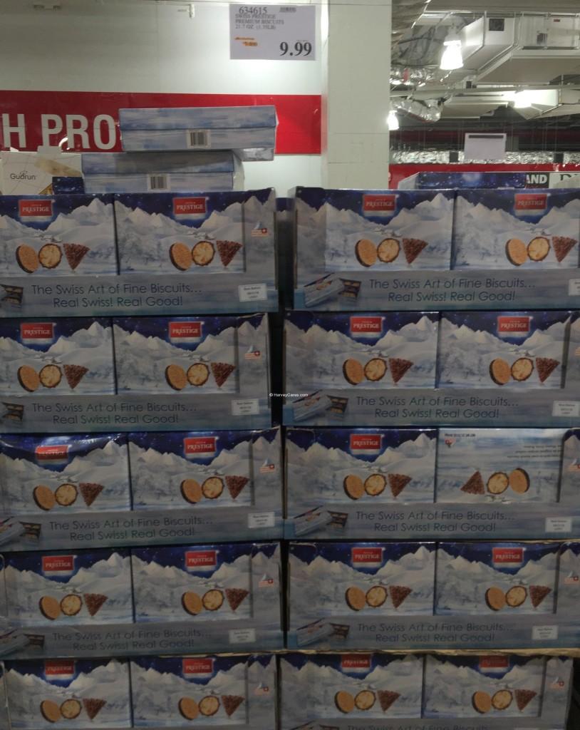 Swiss Prestige Premium Biscuits Costco Price Panel