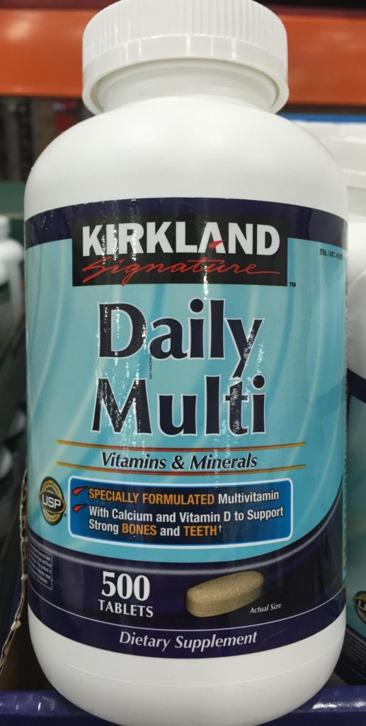 Kirkland Daily Multi Vitamins and Minerals