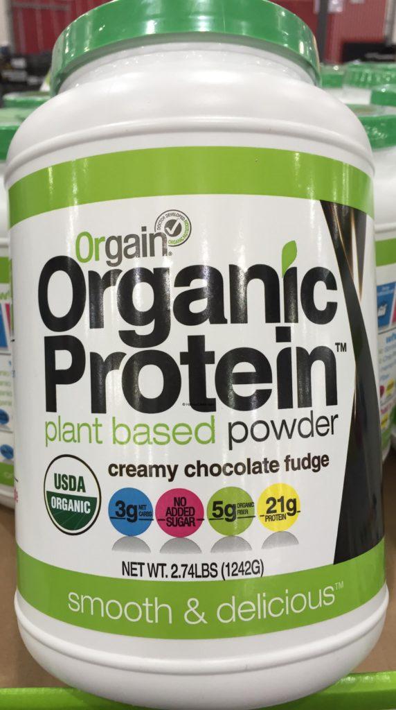 Orgain Plant Based Organic Protein Powder