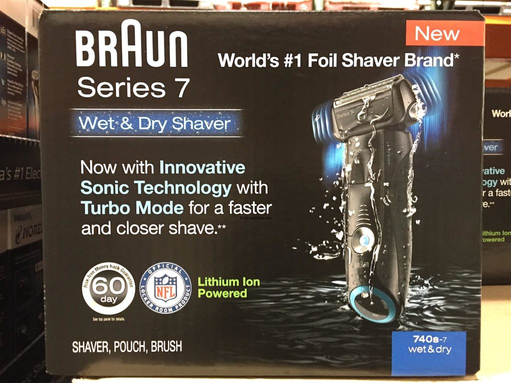 Braun Series 7 Sonic Wet Dry Electric Shaver