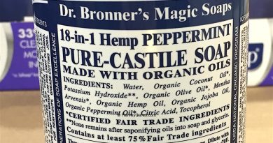 Dr. Bronner's Magic Pure Castile Peppermint Soap