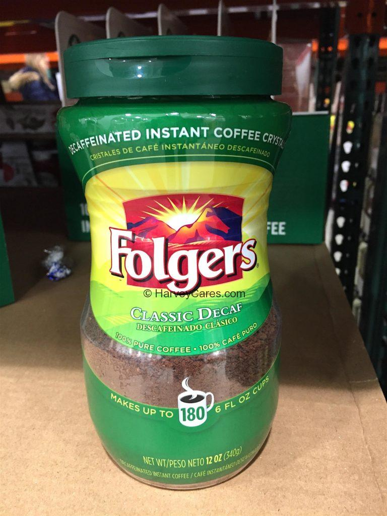 Folgers Instant Decaf Coffee Crystals