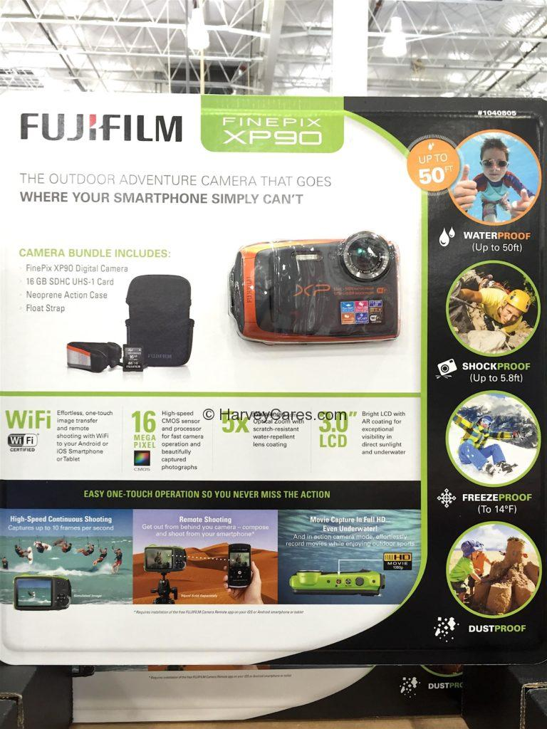 Fujifilm Finepix XP90 Waterproof Camera
