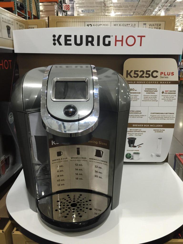 Keurig K525C Plus Coffee Maker Actual Unit Display Look