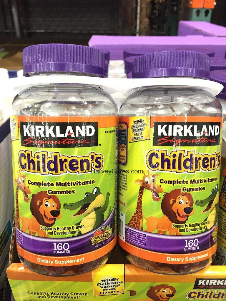 Kirkland Children's Complete Multivitamin Gummies