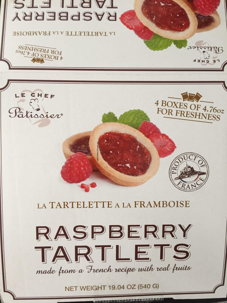Le Chef Patissier French Raspberry Tartlets