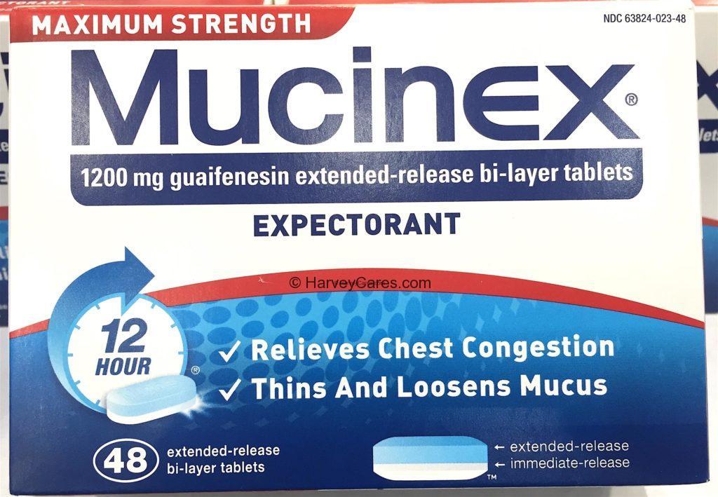 Mucinex Chest Congestion Relief Expectorant