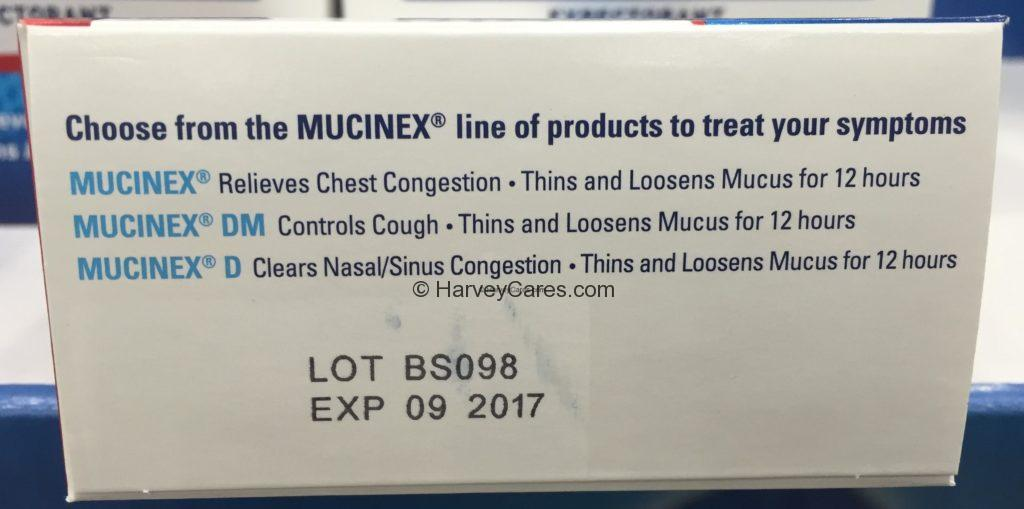Mucinex Chest Congestion Relief Expectorant Product Overview Usage Uses