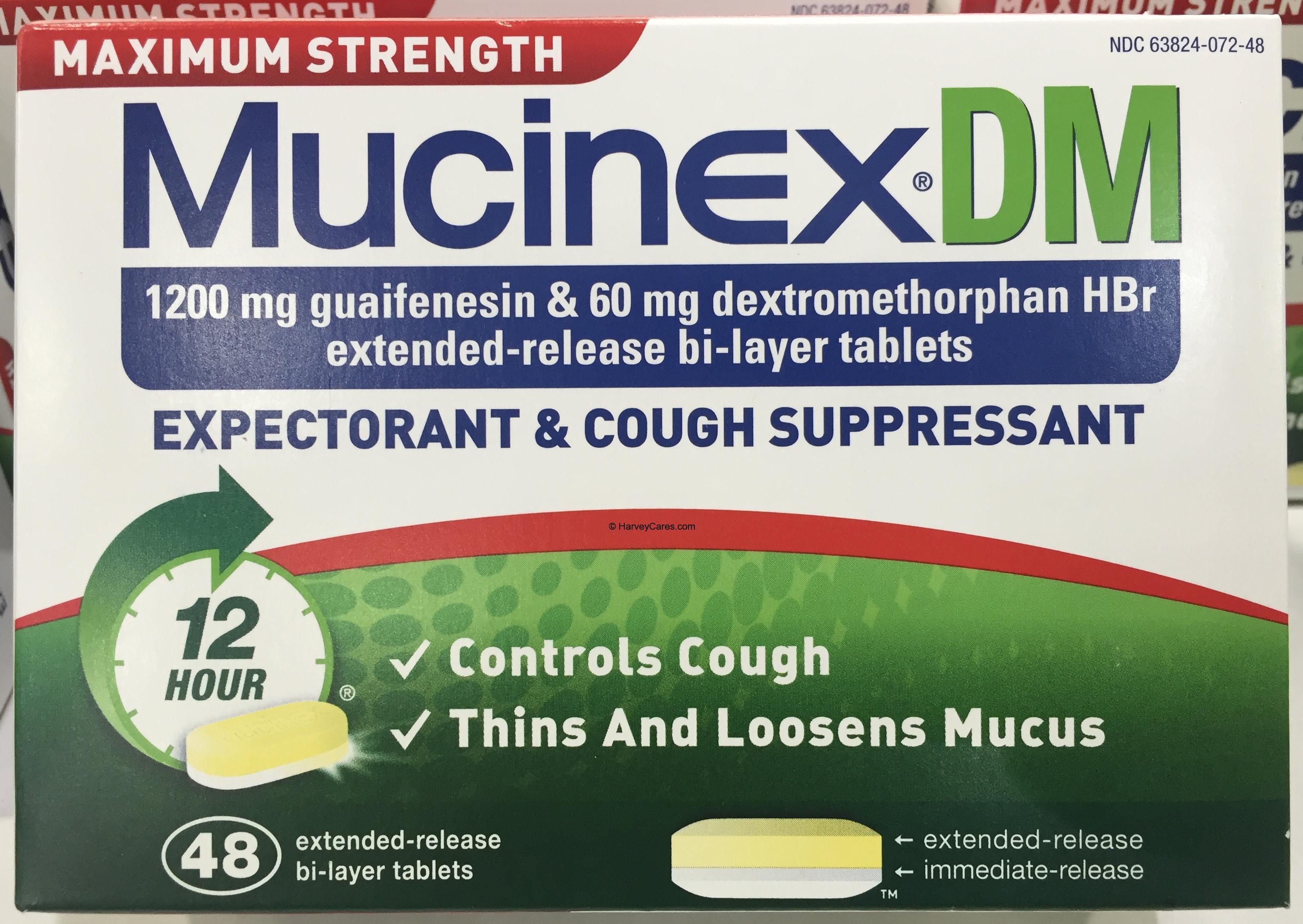 is mucinex dm drowsy