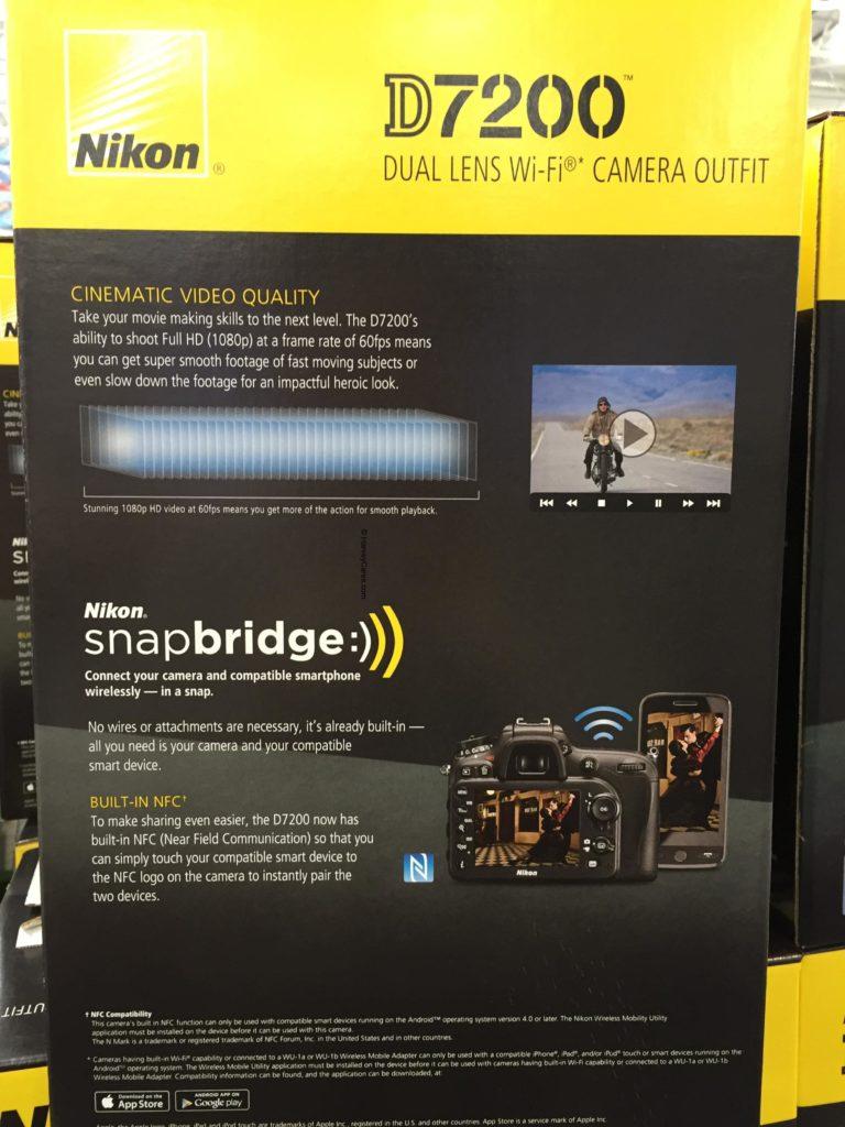 Nikon D7200 DSLR Camera Side Panel Description Features and Camera Technology
