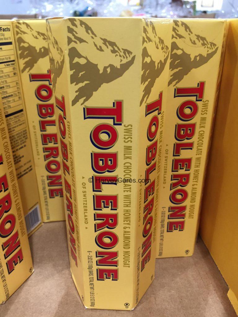 Toblerone Swiss Milk Chocolate Bars