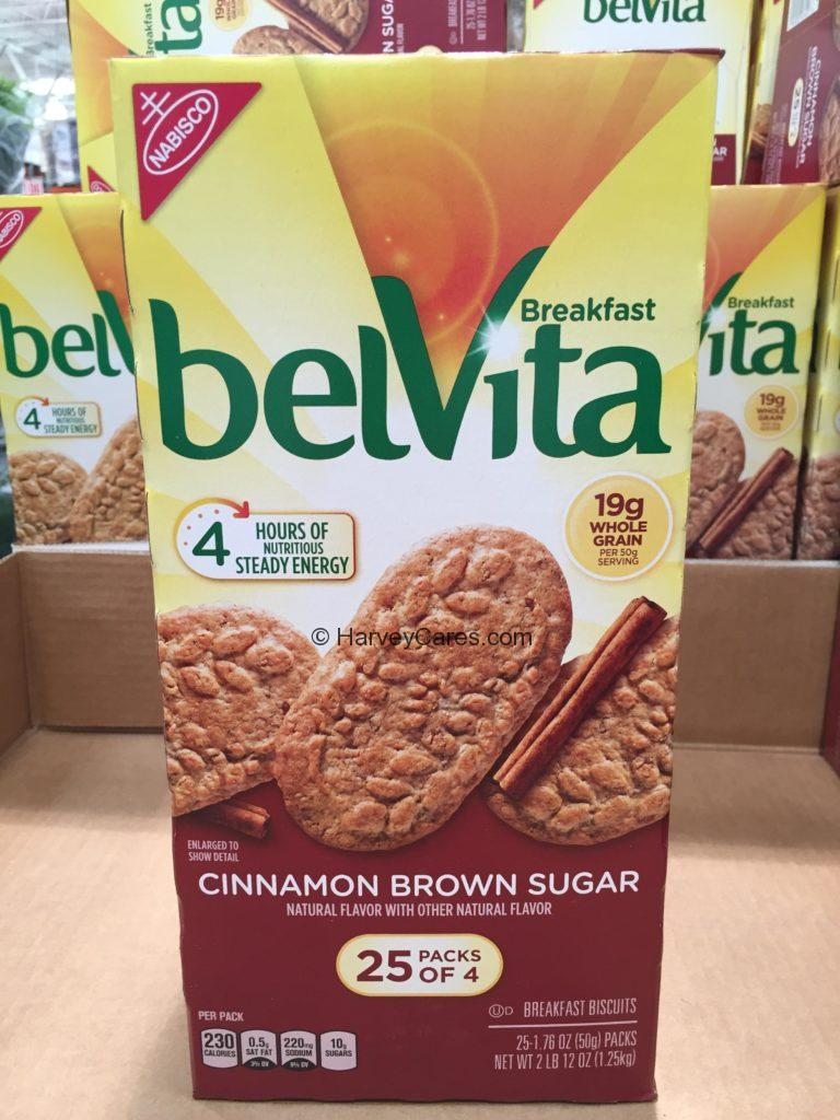 belVita Cinnamon Brown Sugar Breakfast Biscuit Cookies