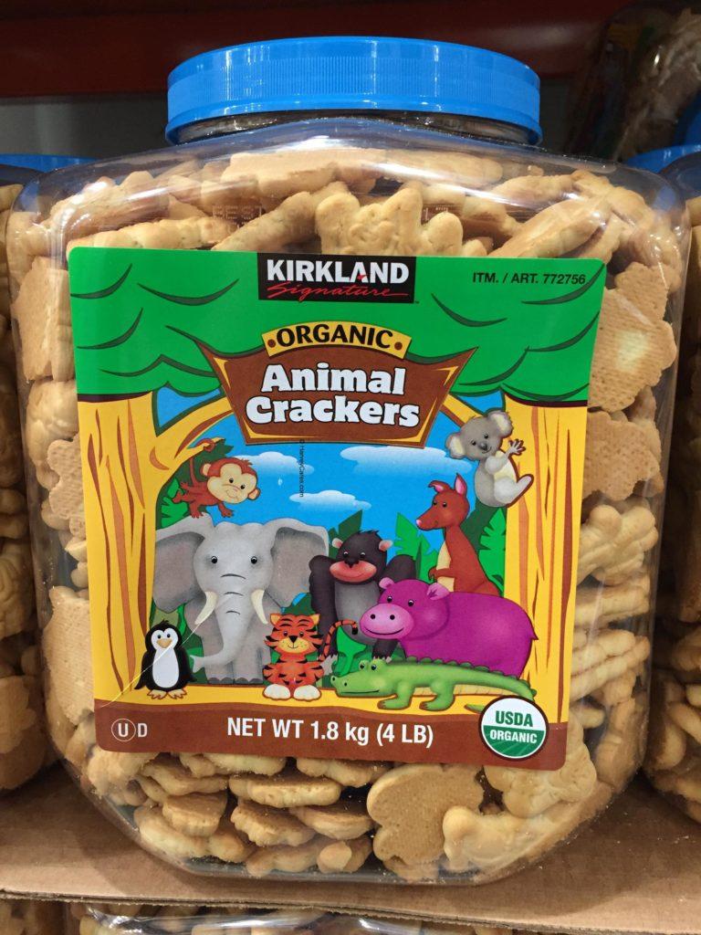 Kirkland Organic Animal Crackers