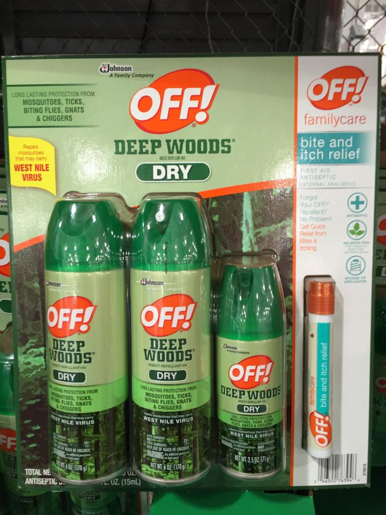 Off Deep Woods Dry Insect Repellent
