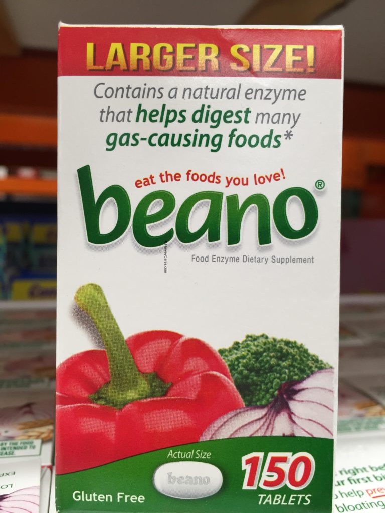 beano Food Enzyme Dietary Supplement