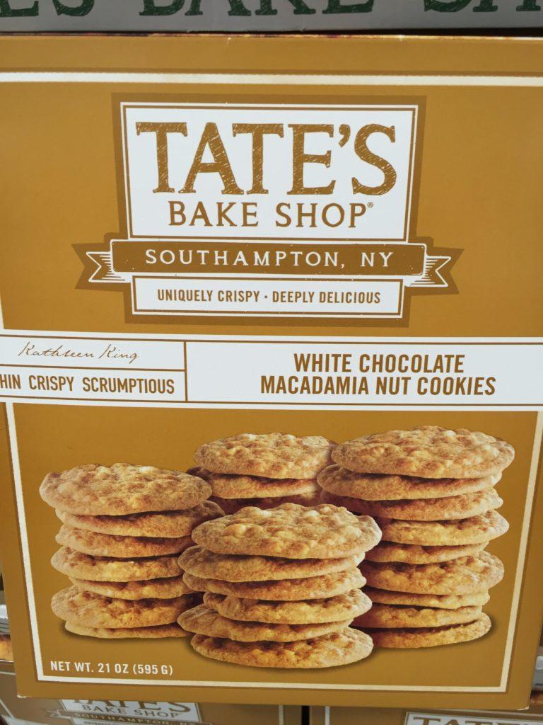 Tate's Crispy White Chocolate Macadamia Cookies