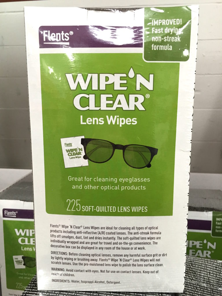 Wipe N Clear Lens Cleaning Wipes