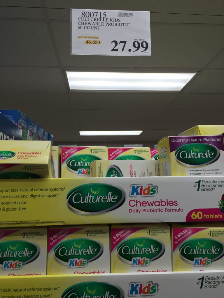 culturelle-kids-chewables-daily-probiotic-costco-price-panel