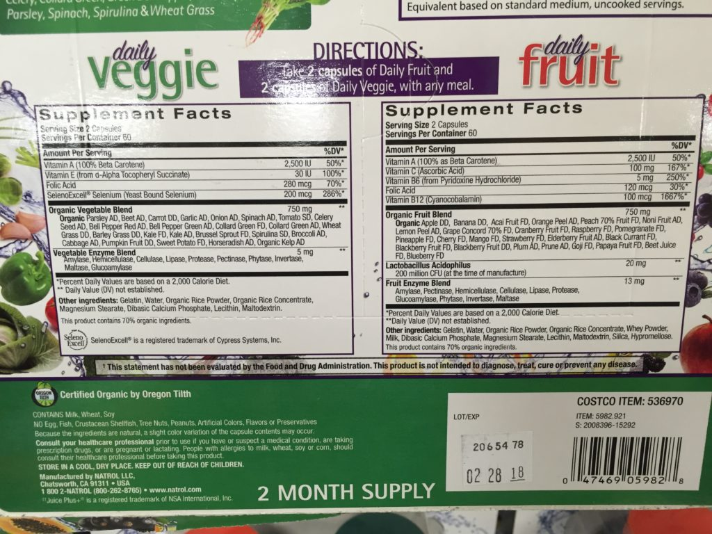 natrol-juicefestiv-fruit-and-veggie-capsules-supplement-facts-allergen-description