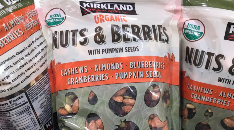 Kirkland Organic Nuts and Berries