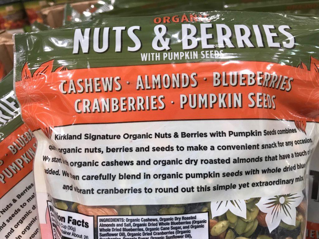 Kirkland Organic Nuts and Berries Product Description