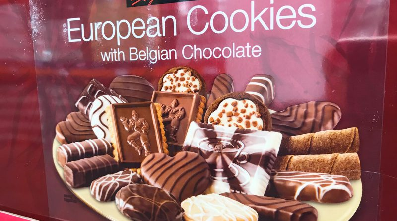 Kirkland Signature European Cookies with Belgian Chocolate