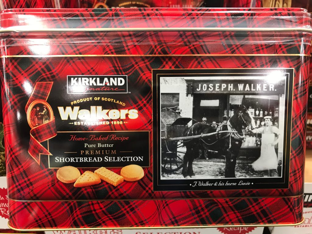 Kirkland Signature Walkers Shortbread Joseph Walker