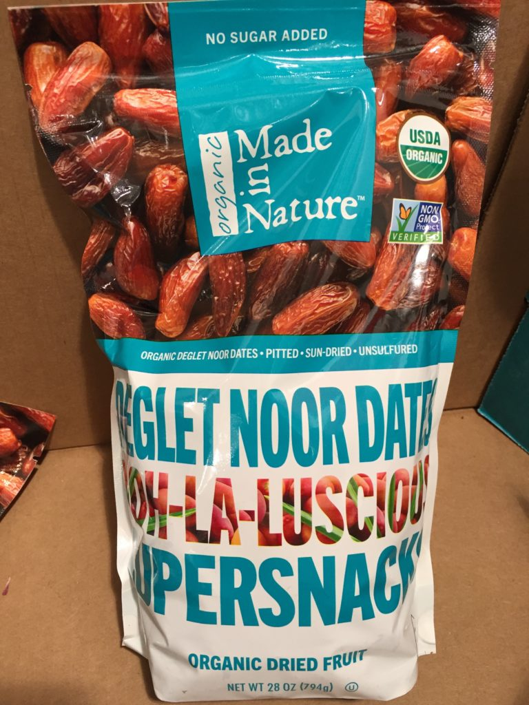 Made in Nature Organic Dried Deglet Noor Dates