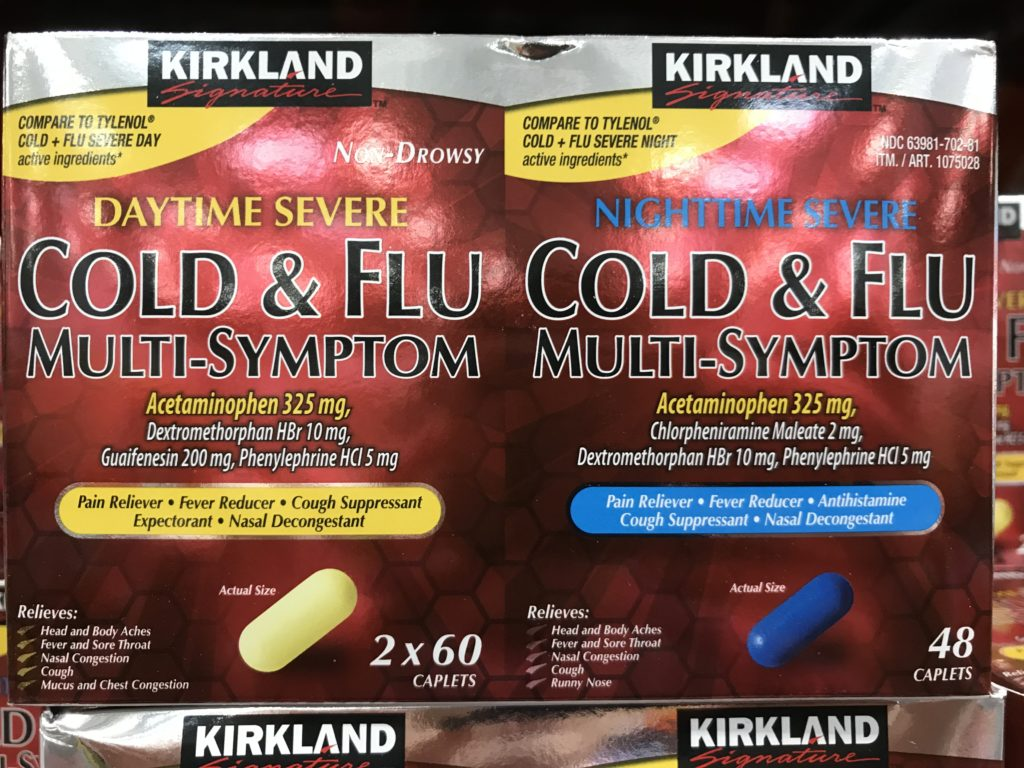 Kirkland Severe Cold & Flu Symptom Reliever