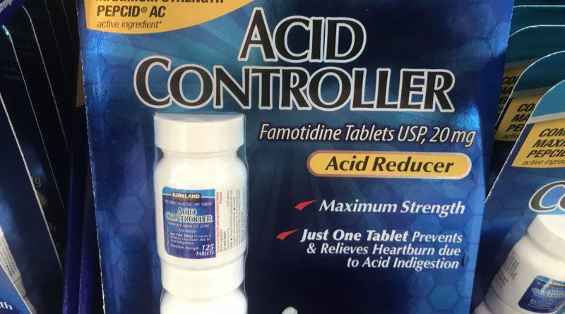 Kirkland Signature Famotidine Acid Controller