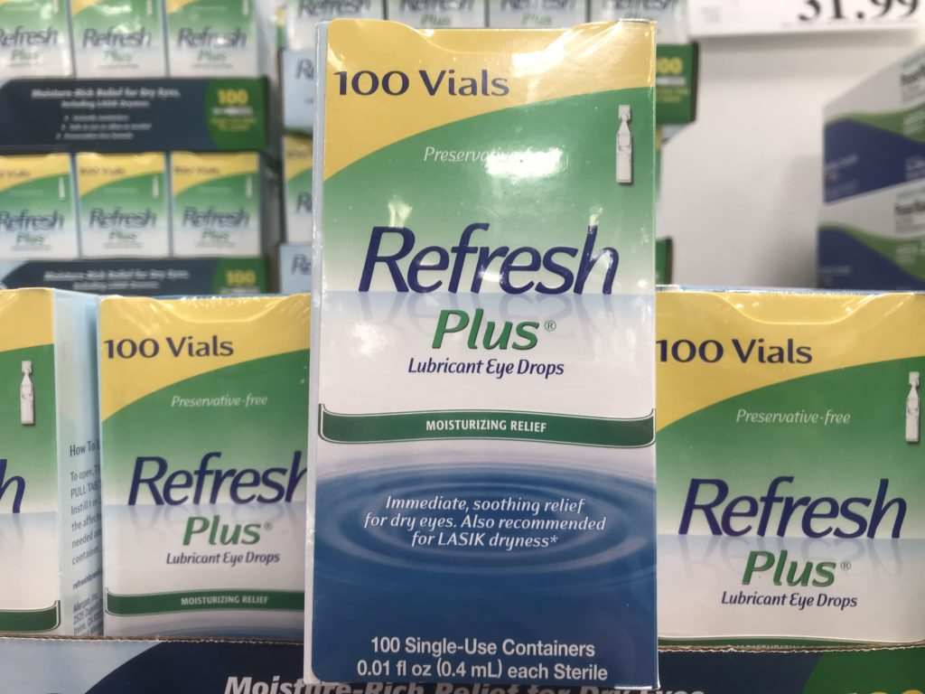 Refresh Plus Preservative Free Eye Drops