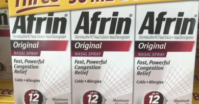 Afrin Congestion Nasal Spray