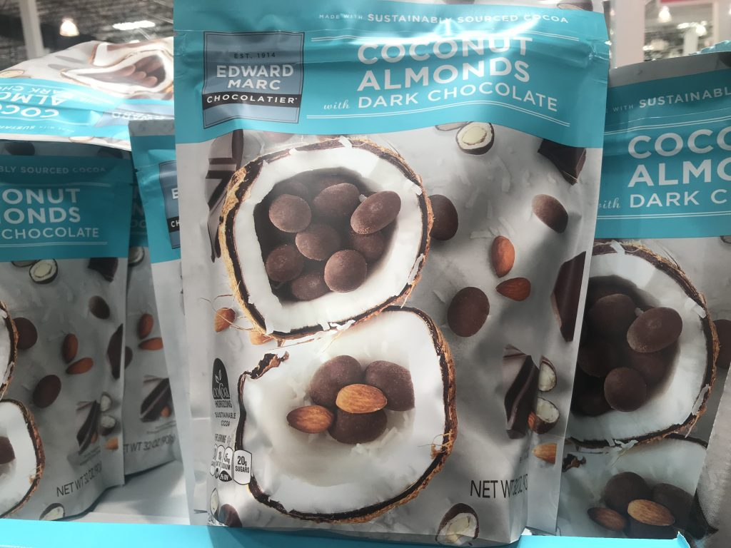 Edward Marc Coconut Chocolate Almonds