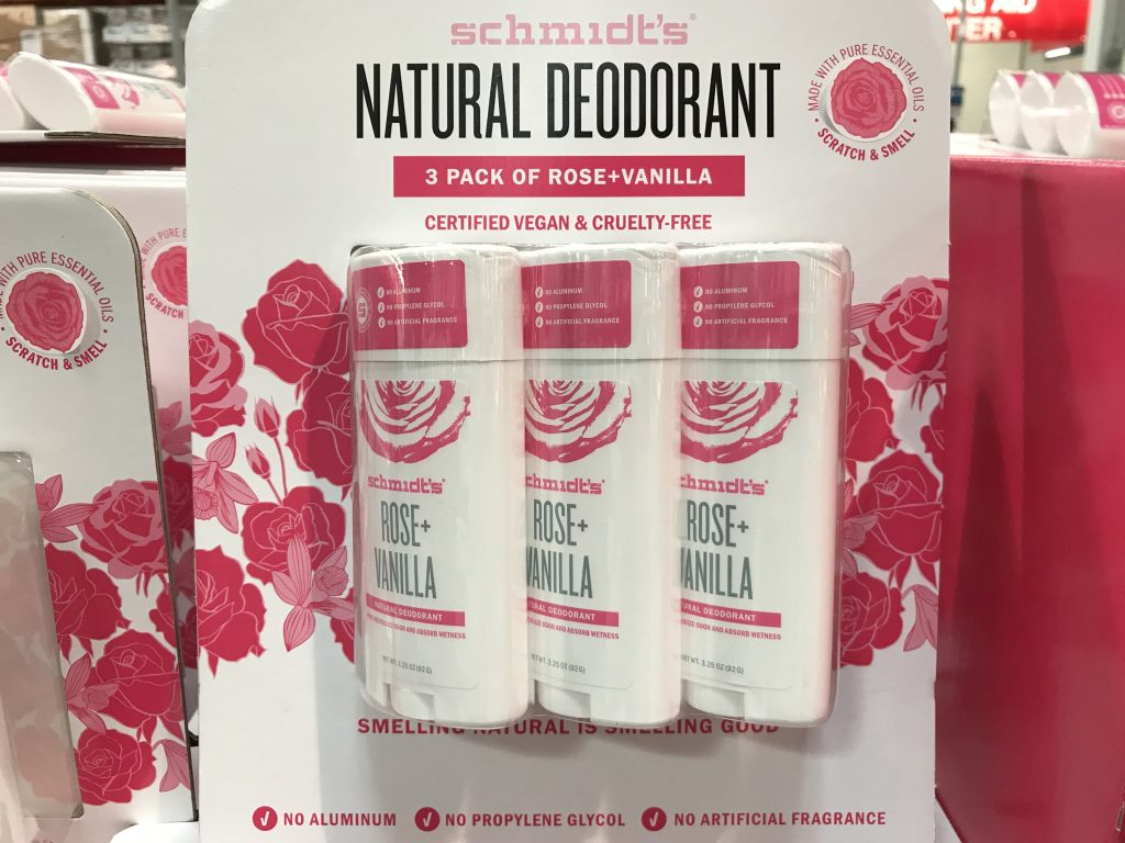 Schmidt's Natural Deodorant Rose and Vanilla