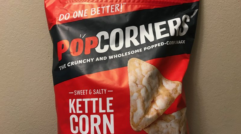 Crunchy Popcorners Kettle Corn Snack