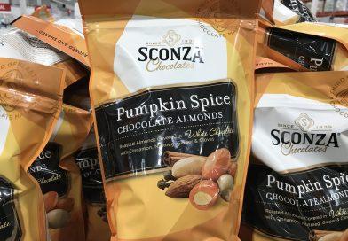 Sconza Pumpkin Spice Chocolate Almonds