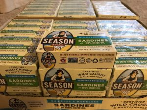 Season Wild Caught Sardines in Olive Oil Costco Cases