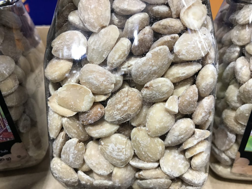Kirkland Signature Marcona Almonds Close Look